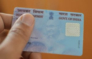 PAN card is disabled if tax evasion.Income Tax Department